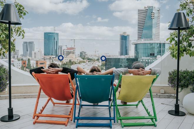 65 Hotel, Rothschild, Tel Aviv - An Atlas Boutique Hotel - Tel Aviv - Parveke