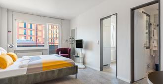 numa | Oben Apartments - Frankfurt - Soveværelse