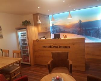 Oberauer Wagrain - Die Pension (B&B) - Wagrain - Front desk