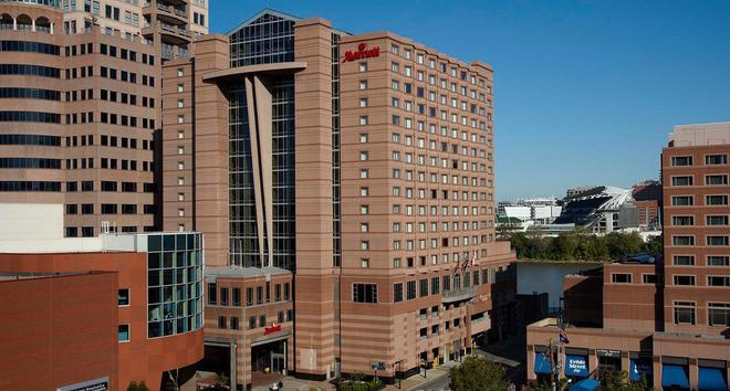 Cincinnati Marriott at RiverCenter - Covington - Building