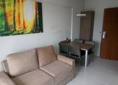 Veredas Rio Quente Flat - Rio Quente - Living room