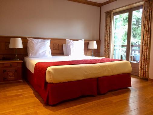 Au Vieux Moulin Hotel And Spa - Megève - Bedroom