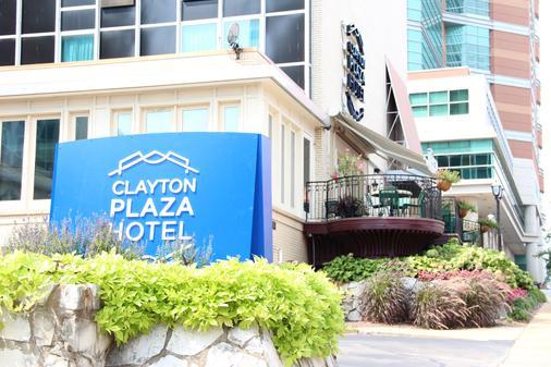 Clayton Plaza Hotel - Clayton - Building
