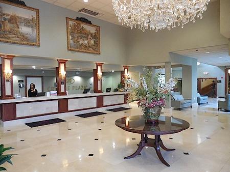 Clayton Plaza Hotel - Clayton - Front desk