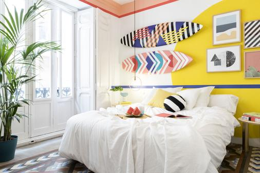 Valencia Lounge Hostel - Valencia - Bedroom