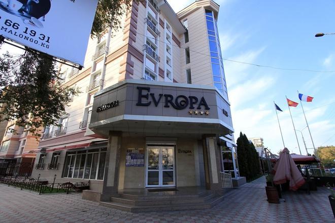 Evropa Hotel - Bishkek - Building