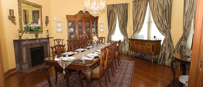 1896 O'Malley House - New Orleans - Dining room