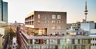 SIDE Design Hotel Hamburg - Hampuri - Rakennus