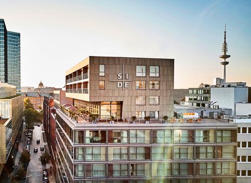 SIDE Design Hotel Hamburg - Hamburg - Building