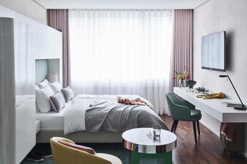 SIDE Design Hotel Hamburg - Hamburg - Bedroom