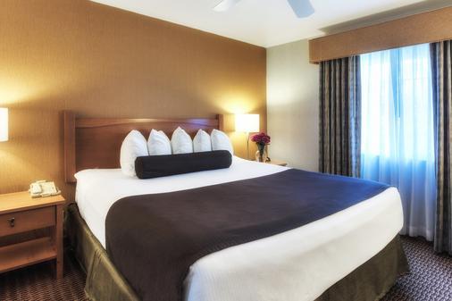 華美達酒店和套房 - 科斯塔梅薩 - 科斯塔梅薩 - 臥室