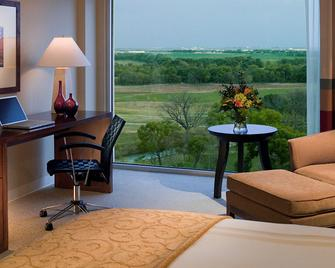 Dallas/Fort Worth Marriott Hotel & Golf Club at Champions Circle - Fort Worth - Bedroom