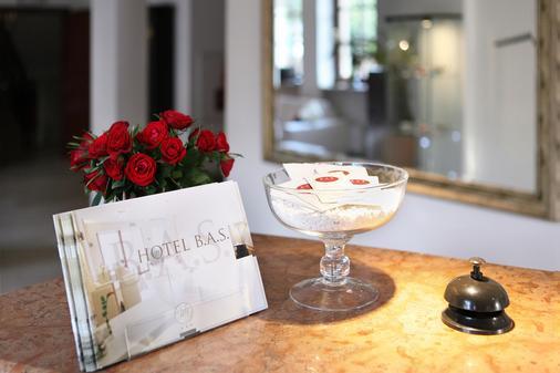 Hotel B.A.S Villa Residence - Krakau - Rezeption