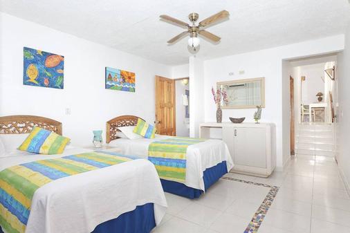Hotel Cocoplum Beach - San Andrés - Bedroom