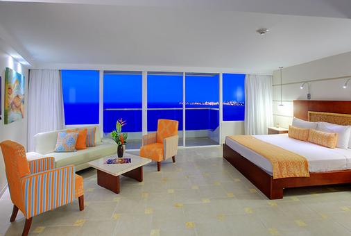 卡塔赫納大恩酒店 - 喀他基那 - 卡塔赫納 - 臥室