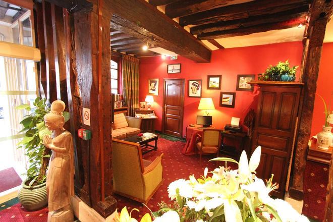 Hotel de la Bretonnerie - París - Recepción