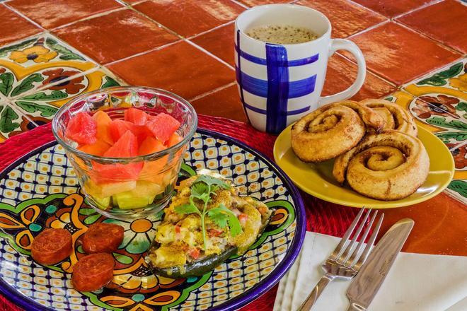 Casa Del Maya Bed & Breakfast - Mérida - Comida
