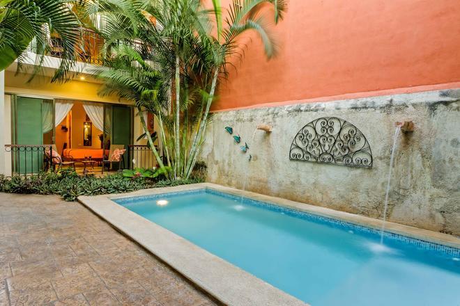 Casa Del Maya Bed & Breakfast - Mérida - Bể bơi