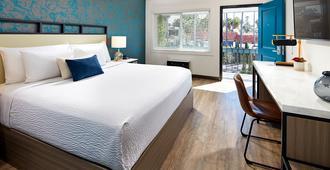 The Shoal La Jolla Beach - San Diego - Schlafzimmer