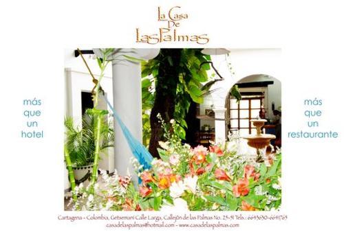 Hotel Casa De Las Palmas - Cartagena - Patio