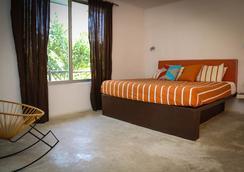 Teetotum hotel - Tulum - Makuuhuone