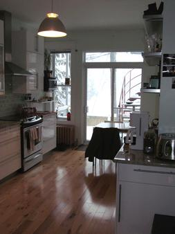 Gite Urbain La Lanterne - Montreal - Kitchen