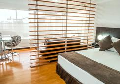 麗晶套房酒店 - 波哥大 - 波哥大 - 臥室