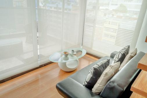 Hotel Regency Suites La Feria - Bogotá - Living room