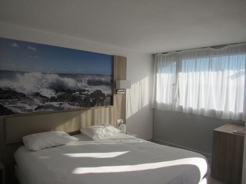 The Originals City, Hôtel Morlaix Ouest (Inter-Hotel) - Saint-Martin-des-Champs - Bedroom