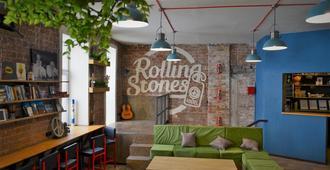 Rolling Stones Hostel - Irkutsk - Olohuone