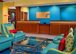 Fairfield Inn and Suites by Marriott Virginia Beach Oceanfront - Βιρτζίνια Μπιτς - Σαλόνι ξενοδοχείου