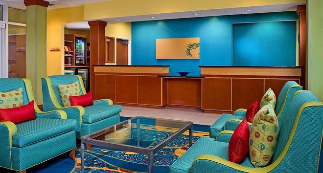 Fairfield Inn and Suites by Marriott Virginia Beach Oceanfront - Virginia Beach - Lobby