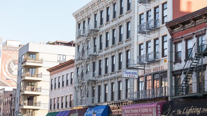 Bowery Grand Hotel - Nova York - Vista externa