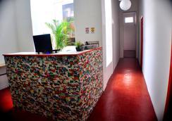 Mauá Rio Hostel - Rio de Janeiro - Front desk