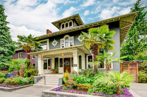 加斯萊特住宿加早餐旅館 - 西雅圖 - 建築