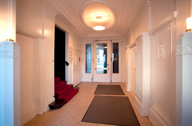 Hotel Aster - Berlín - Pasillo