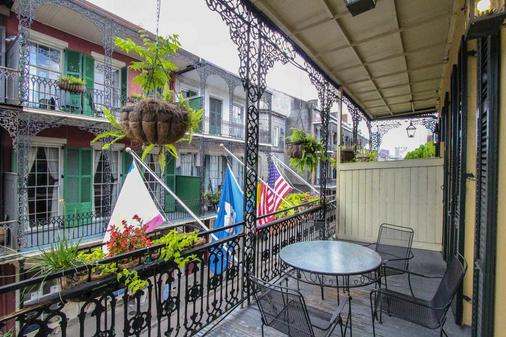 Andrew Jackson Hotel, A French Quarter Inns Hotel - New Orleans - Parveke