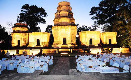 Angkor Paradise Hotel - Siem Reap - Banquet hall