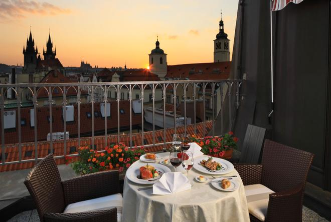 Grand Hotel Bohemia - Prague - Balcony