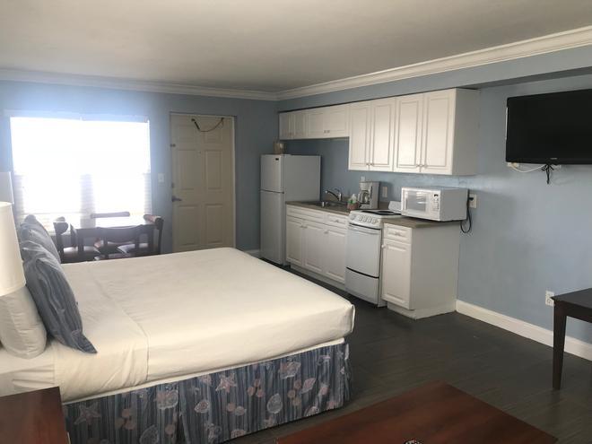 海灘旋轉木馬酒店 - 梅爾堡海灘 - 邁爾斯堡海灘 - 臥室