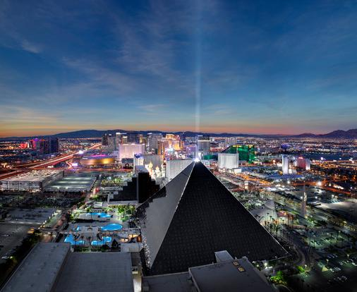Luxor Hotel and Casino - Las Vegas - Gebäude