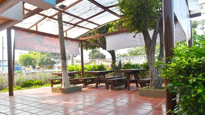 Hospedaje La Ceiba - Cartagena - Patio