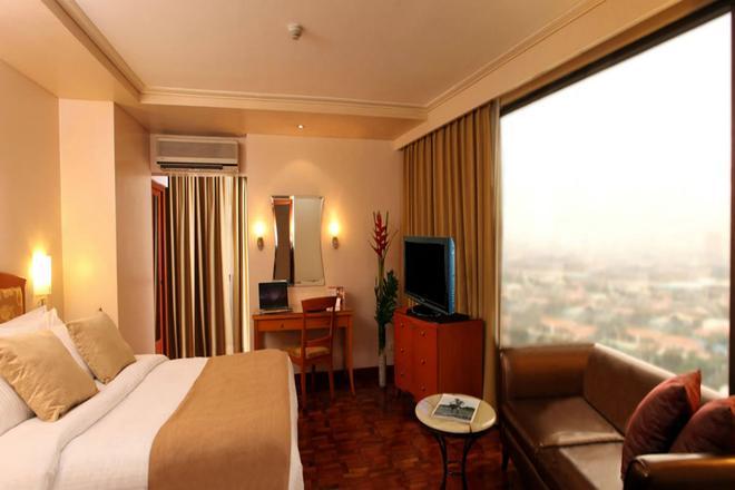 City Garden Hotel Makati - Μακάτι - Κρεβατοκάμαρα