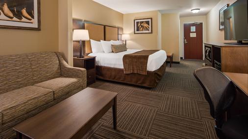 Best Western Plus Frontier Inn - Cheyenne - Bedroom