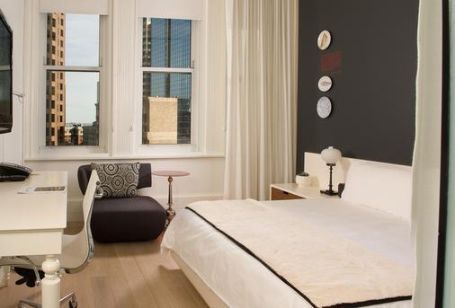 艾姆斯波士頓酒店 - 希爾頓 Curio 精選系列 - 波士頓 - 波士頓 - 臥室