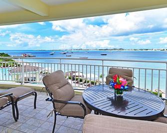 The Villas At Simpson Bay Beach Resort And Marina - Simpson Bay - Balkon
