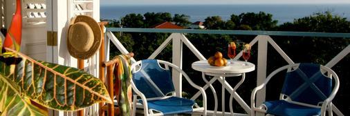 Hotel Mocking Bird Hill - Port Antonio - Parveke
