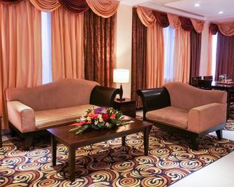 馬尼拉灣景園酒店 - 馬尼拉 - 馬尼拉 - 客廳