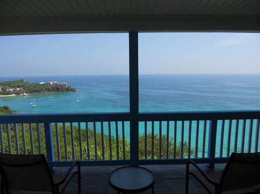 Paradise Cove Cottages - Saint Thomas Island - Balcony