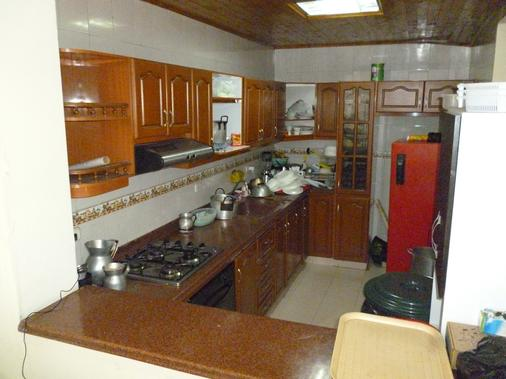 B&b Cq Lourdes - Hostel - Bogotá - Kitchen